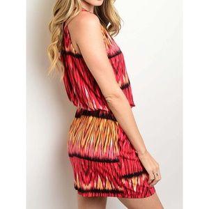 Dresses & Skirts - Women Ombre Print Jersey Knit Blouson Dress, NWT